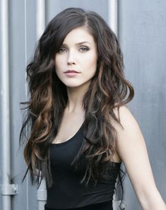 Sophia Bush's Peek A Boo Highlights #trends #hairtrends #pmtsnormal/ big hair lovely