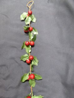 Festive long luxury Green Holly and Red Berries artificial garland Christmas decoration for use indoors or outdoors, with hanging hook. Ideal to decorate your fireplace mantlepiece, sideboard or windowsill this Christmas. Artificial Garland, Red Berries, Garden Furniture, Christmas Decorations, Green, Accessories, Lawn Furniture, Christmas Decor, Christmas Baubles