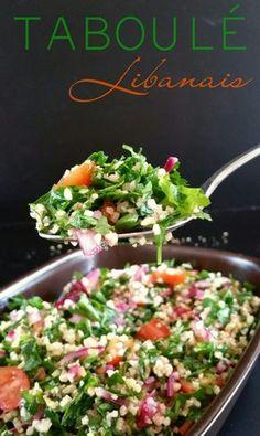 Taboulé Libanais #recette #végétal #vegan #salé @ Envie d'Une Recette Végétalienne ?