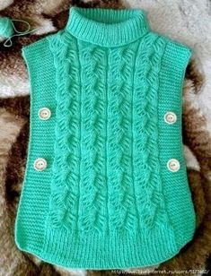 Diy Crafts - VK is the largest European social network with more than 100 million active users. Our goal is to keep old friends, ex-classmates, neighb Poncho Knitting Patterns, Knitted Poncho, Knitting Designs, Baby Poncho, Kids Poncho, Baby Girl Crochet, Crochet Baby Booties, Knitted Baby Clothes, Knitting For Kids
