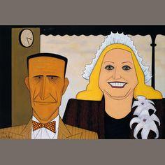 John Brack (1920-1999) The jockey and his wife 1953