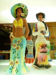 Muñecas Venezolanas de http://www.flickr.com/photos/curioseando/528022553/lightbox/