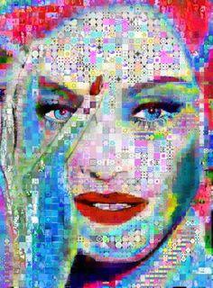 "Saatchi Art Artist John Lijo Bluefish; Collage, ""i'm going to tell you a secret"" #art"