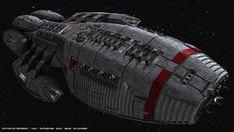 Kampfstern Galactica, Battlestar Galactica, Spaceship Art, Spaceship Design, Stargate, Star Wars Spaceships, Space Fantasy, Sci Fi Ships, Classic Camera