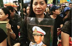 """See how Thais marked the somber passing of Thailand's beloved King Bhumibol.  """"I feel a deep sense of loss,"""" one mourner said. """"He is the father of the land."""""""