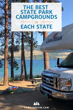 The Best State Parks as voted on by the Campendium community. See how many campgrounds you've already visited and add the rest to your bucket list.  #camping #rvliving #rvlivingfulltime #stateparks #statepark #rvtravel #rvlife #campingtrip #roadtrip Rv Camping Tips, Travel Trailer Camping, Camping List, Camping Places, Rv Travel, Travel Destinations, Camping Products, Camping Essentials, Family Camping