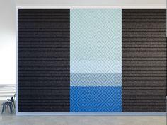 Acoustic Wood Wool Panels BAUX ACOUSTIC PANEL STRIPES by BAUX design Form Us With Love