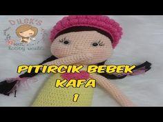 Amigurumi Pıtırcık Bebek 1 (Baş) Amigurumi Popcorn Baby 1 ( Head) - YouTube