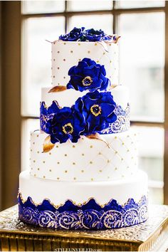 44 Best Blue White Wedding Cake Images In 2019 Amazing Cakes