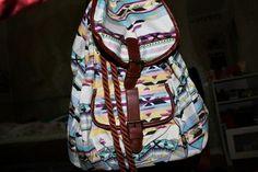 Tribal Aztec print bag, so hipster.
