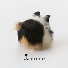 woowan【collie】 犬/dog/羊毛フェルト/Needle Felting