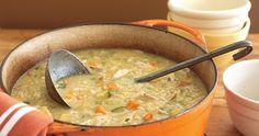 Chicken Vegetable Soup - Weight Watchers Recipes 3 Points Plus - 2 Smart Points- 137 calories per 1 Cup serving Veg Beef Soup, Vegetable Soup With Chicken, Vegetable Soup Recipes, Chicken Soup Recipes, Chicken And Vegetables, Veggie Soup, Recipe Chicken, Hamburger Soup, Vegetable Casserole