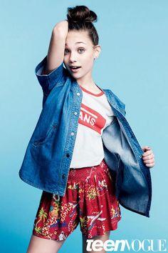 Maddie Ziegler跳舞年輕新一代it girls hokk fabrica香港線上雜誌