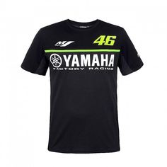 [Visit to Buy] Free shipping 2017 Valentino Rossi VR46 For Yamaha Racing Black MotoGP Men's T-Shirt VR 46 The Doctor T-shirt #Advertisement