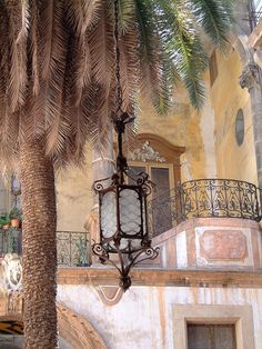 Palermo courtyard, province of Palermo , Sicily region Italy