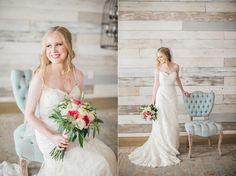 Bridal Portraits at Big Sky Barn | Nicole Chatham Photography