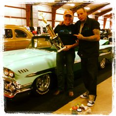 First Prize Custom Retro with VooDoo Larry First Prize, Voodoo, Larry, Hot Rods, Chevy, Retro, Rustic, Mid Century, Street Rods