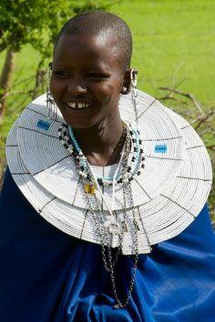 Beauté insolite tribale d'Afrique - Les femmes massai, Kenya, Afrique