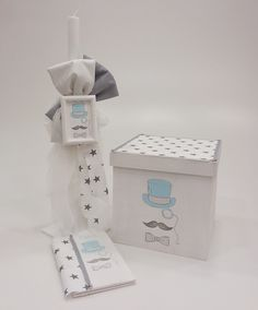 Hello Mister Little Man, Tissue Holders, Container, Baby Shower, Home Decor, Christening, Babyshower, Decoration Home, Room Decor