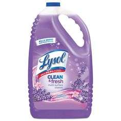 Lysol Clean and Fresh Multi Surface Cleaner 144 Oz Clean and Fresh Lavender Orchid Cleaning Checklist, Cleaning Supplies, Cleaning Hacks, Cleaning Quotes, Deep Cleaning, Floor Cleaning, Toilet Cleaning, Spring Cleaning, Disinfectant Spray