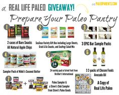 Paleo Giveaway!