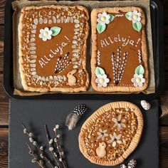 Polish Easter shortcrust tarts, mazurki wielkanocne Polish Easter, Tarts, Sugar, Cookies, Baking, Desserts, Recipes, Food, Mince Pies