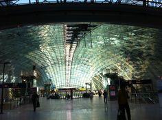 Estacion de tren en frankfurt