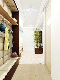 Projekt wnętrz apartamentu w stylu wakacyjnym w Warszawie - Tissu