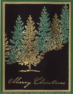 Christmas Trees Stampin' Up!