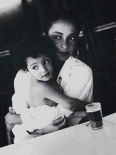 Sade and daughter... BEYOND BEAUTIFUL.