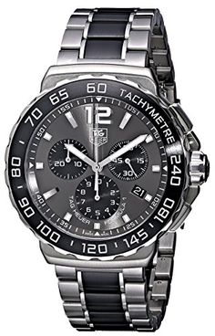 Men's Wrist Watches - TAG Heuer Mens CAU1115BA0869 Formula 1 Stainless Steel Watch * Check out the image by visiting the link.
