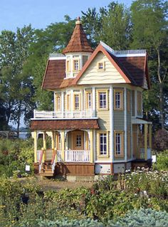 dollhouse, so well done it could be a real house!