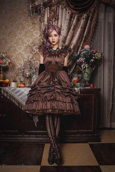 ✙~~New Release: Classical Puppets ~Elegy~ Gothic Lolita JSK Short Version >>> http://www.my-lolita-dress.com/classical-puppets-elegy-gothic-lolita-jumper-dress-cp-152