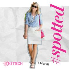 #Kitsch #Spotted Hollywood starlet Reese Witherspoon walking the town in Chloe Bi color sandals!