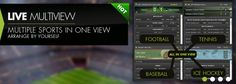 LIVE MULTIVIEW  MULTIPLE SPORTS IN ONE VIEW  ARRANGE BY YOURSELF ONLY ON botboro.com