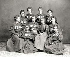 Women's Basketball team. 1900