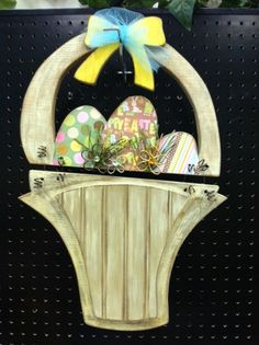 Egg Basket 1 Wood Craft