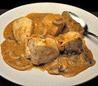 Chicken Breasts, Sherry Mushroom Sauce