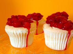 Angelfood Cupcake