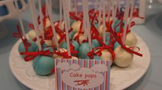 Cake Pops nas cores da festa!  024 by PraGenteMiúda, via Flickr