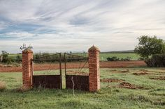 A gate without a fence...an interesting image and thought to ponder