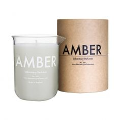 Bougie Parfumée Amber - Laboratory Perfumes