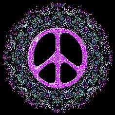 swirly pastels peace sign