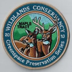 Is your camp theme 'the forest'? This badge is an amazing but very simple camp memory. Just sew or iron it on your uniform! Order your FREE samples on ibadge.com.