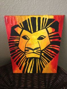 20 Ideas disney art diy canvases the lion king Disney Crayon Art, Disney Art Diy, Disney Canvas Art, Disney Crafts, Crayon Canvas Art, Kids Canvas Art, Crayon Painting, Canvas Ideas, King Painting