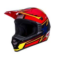 Bell SX-1 Off Road MX Helmets - Apex