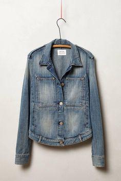 Anthropologie  McGuire Workwear Denim Jacket