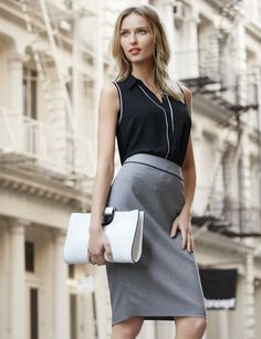 Stay Inspired Formal Outfits, Work Outfits, Stylish Outfits, Classic Outfits, Classic Style, My Style, Lawyer Fashion, Clean Slate