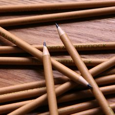 Recycled pencils