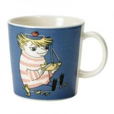 Mummi Krus Too-ticki - Tove Slotte-Elevant - Arabia - RoyalDesign. Moomin Shop, Moomin Mugs, Scandinavian Kitchen, Scandinavian Design, Classic Dinnerware, Tove Jansson, Simile, Marimekko, Ceramic Cups